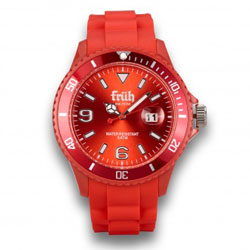 Früh Watch rot